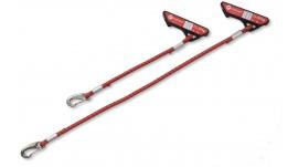 Redcord Elastické lano červené, 60 cm - pár